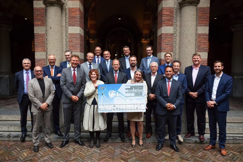 Rotterdam Offshore Wind 'frontrunners in offshore wind'